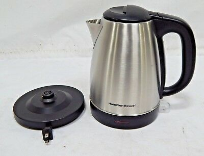 Hamilton Beach Electric Kettle 7.2 Cup Stainless Steel 40993E