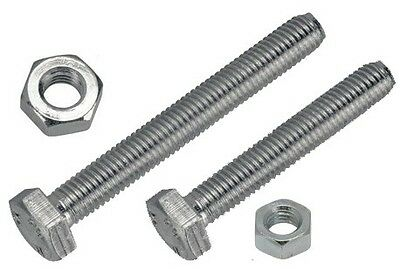 Set Screw & Nut - 2 x 1/4in. UNF - Pack of 2 PWN038 WOT-NOTS