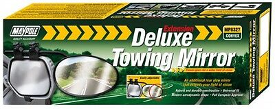 Towing Extension Mirror - Deluxe Convex Glass 8327 MAYPOLE