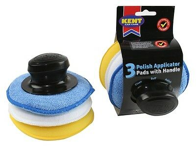 Polish Applicator Pads - Pack Of 3 Q9255 KENT