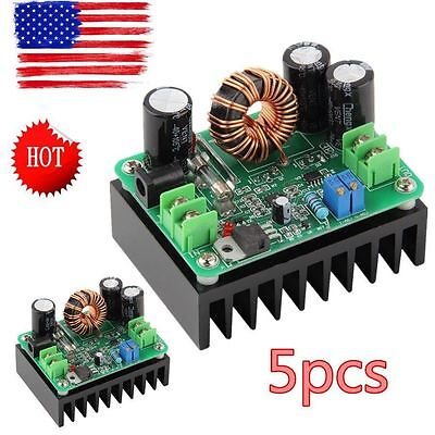 5X DC-DC 600W 10-60V to 12-80V Boost Converter Step-up Module car Power Supply