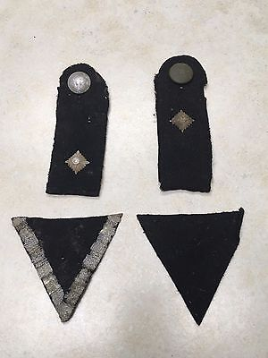 Lot of WW2 German Shoulder Boards & Insignia