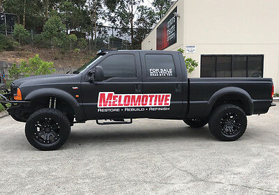 Ford F250 2005 SuperDuty 7.3TD 4X4 auto truck ute