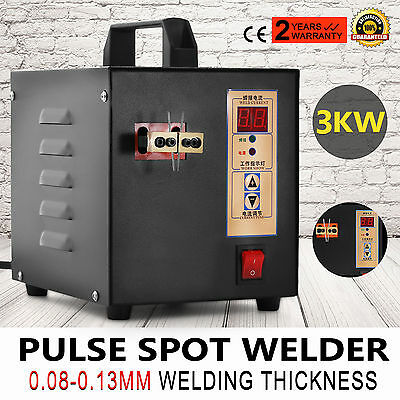 Handheld Pulse Spot Welder Mcahine Welding Power Tools Battery Charger Newest