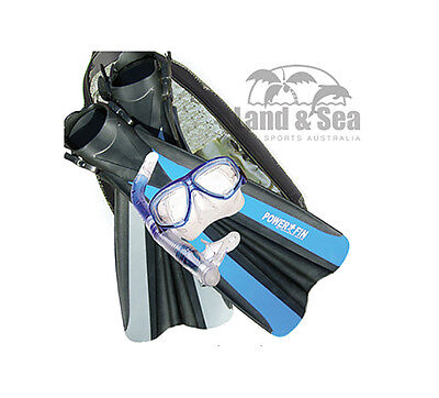 New Land And Sea Fin Professional Snorkel Set Womens Equipment