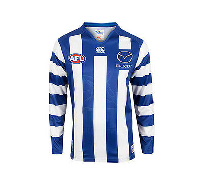 New North Melbourne Kangaroos Home Long Sleeve 2017 Mens Supporter-Gear