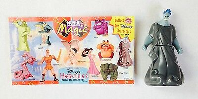 "Nestle Magic Disney's Hercules ""Hades"" Figure Mint w/ Paper Insert"