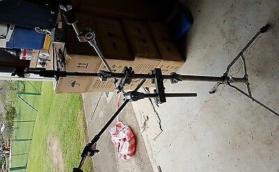 pearl cymbal stand plus 2 boom arms