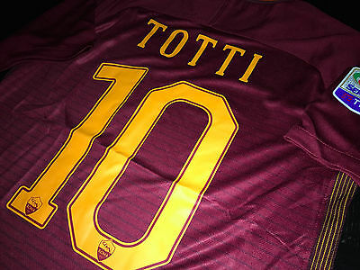 7463f2dbe ROMA OFFICIAL TOTTI JERSEY SIZE M