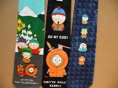 3 Different South Park Neck Ties