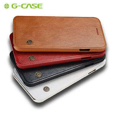 Luxury Slim Leather Flip Cover Card Wallet Back Case For Apple iPhone 7 Plus