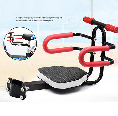 Portable Bike Bicycle Child Seat Saddle Ebike Children Kids Baby Carrier Front
