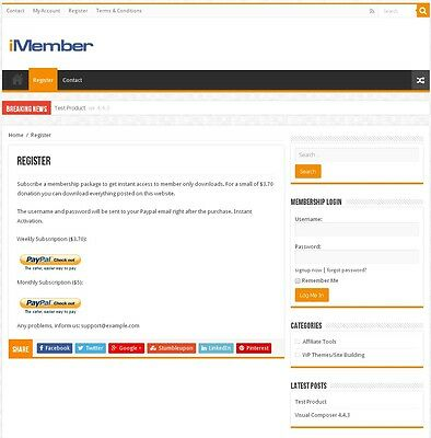 Membership Website - Make Money With Your Own Membership Site