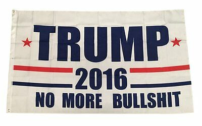 Donald Trump Flag President 2016 No More BS Make America Great Again 3x5 Feet by
