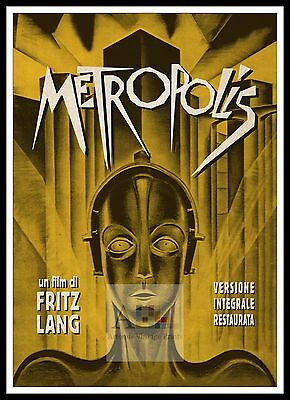Metropolis 11  Poster Greatest Movies Classic & Vintage Films