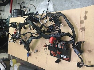 Honda Cbr1000Rr 08-12 Main Wiring Harness Loom Abs Ecu Bike Breaking Spares 2010