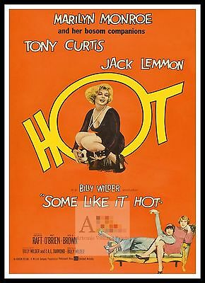 Some Like It Hot 2     Poster Greatest Movies Classic & Vintage Films