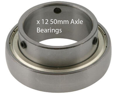 12 x Rear Axle Bearings 50mm x 90mm