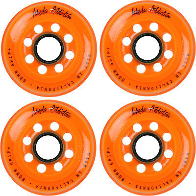 Labeda Inline Roller Hockey Skate Wheels Addiction Orange 80mm SET OF 4