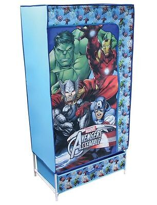 Marvel Avengers Kids Canvas Wardrobe