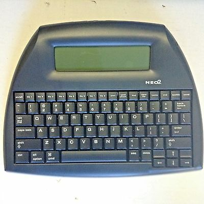 New Neo2 Renaissance Learning Word Processor Keyboard + Cable
