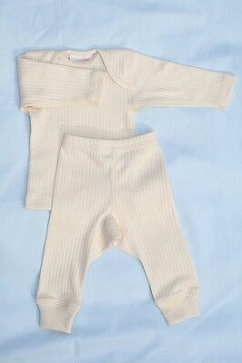 NWT Organic unbleached cotton baby set preemie to 24 months