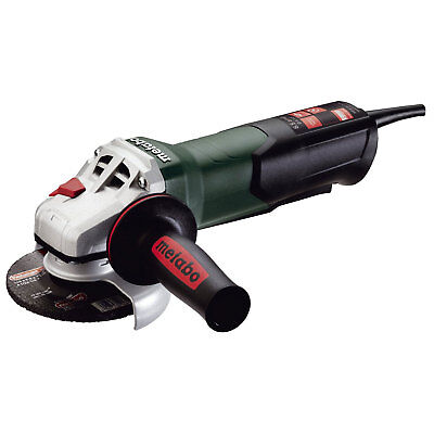 "4-1/2"" 8 AMP Angle Grinder w/ Non-Locking Paddle Switch Metabo 600380420 New"