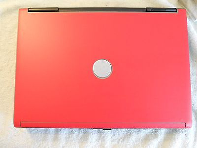 RED  Vinyl Lid Skin Cover Decal fits Dell Latitude D620 D630