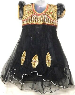 Indian Bollywood Pakistani Bangladesh kids anarkali chudithar salwar age 4 & up
