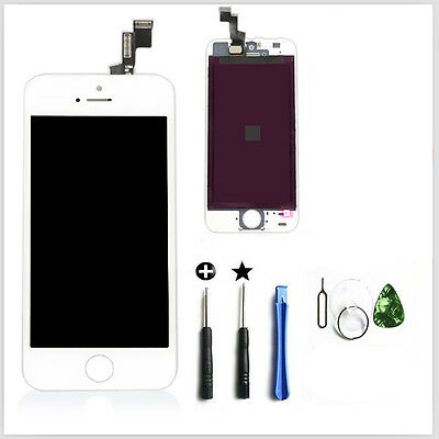White&Touch Screen&LCD Display&Digitizer Assembly Replacement For iPhone 5S&OEM