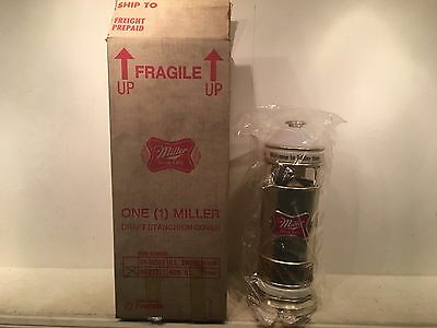 "New Vintage Miller High Life Beer Draft Stanchion Cover 15"" Original Box"