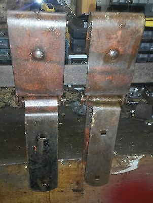 2 Stay On Barn Door Rollers & Track for 8 ft Nib & Notch 2 Sections