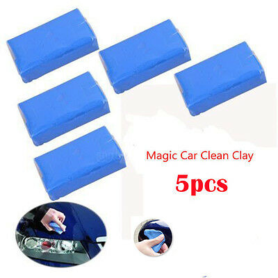 5x Magic Car Clean Clay Truck Auto Vehicle Bar Cleaning Soap Detailing Wash