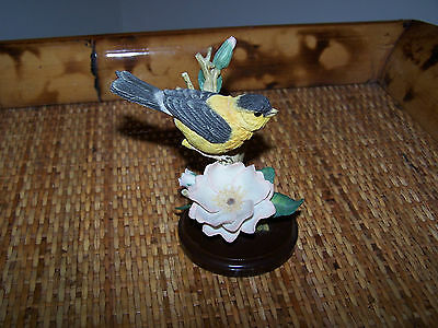 Country Artists for the discerning American Goldfinch with Rose Hand Painted