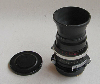 Soviet KMZ PO2-2M 2/75mm MC lens for ARRI Red One Arriflex PL movie camera EXC!
