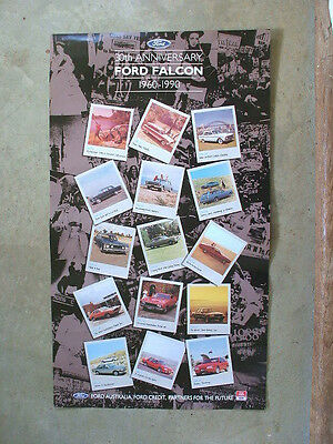 30 Years Of Ford Falcon: 1960 - 1990 Historical Poster