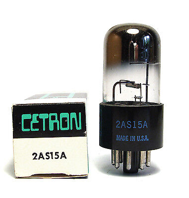 Cetron Röhre 2AS15A Saturation Diode / Regeldiode, NOS
