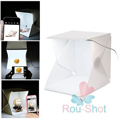 Mini Light Room Tent Photo Box Studio Box Photography Backdrop Built-in Light【AU