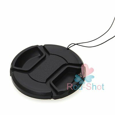 12PCS 52mm Snap-On Front Lens Cap Cover For Canon Nikon Sony Olympus Samsung【AU】