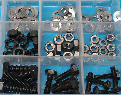 1/4 to 3/8 BSF Assorted Pack 105 pcs - mixed kit of BSF bolts, nuts & washers