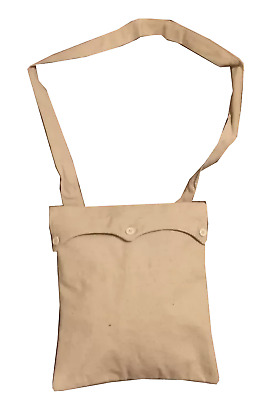 US Civil War Haversack Field Pack CSA Confederate Canvas with 3 Buttons Flap