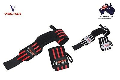 """Wrist Wraps Support Braces Extra Strong 28"""" for Weightlifting Powerlifting Gym"""