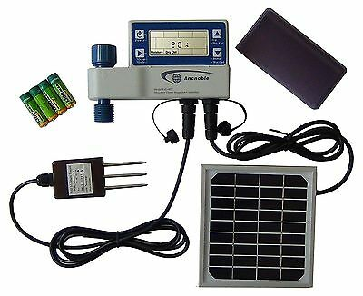 Noble GG-005C-1 Irrigation Controller with Moisture Sensor and Solar Powered