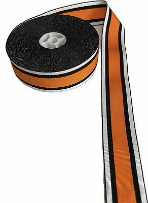 Medal  Ribbon In Three Line Colour width size: 4cm (price per  Meter)