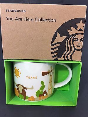 """NEW Starbucks Texas 14 oz """"You Are Here"""" Collection Mug/Cup New With Box"""