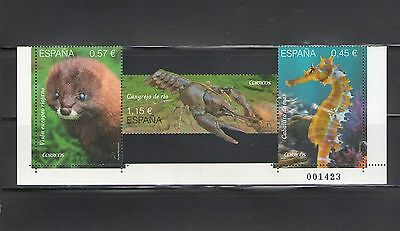 SPAIN:+++REDUCED BY $1.00+++ 2016 N I /***WILDLIFE***/ Unique Shape / MNH