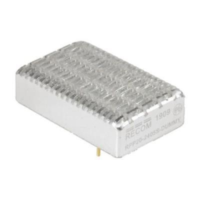 1 x Recom, Vout 15V dc Isolated DC-DC Converter RPP20-2415S, Vin 18-36V dc