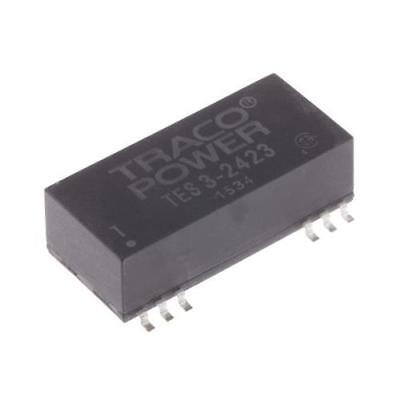 1 x TRACOPOWER, Vout ±15V dc Isolated DC-DC Converter TES 3-2423, Vin 18- 36V dc