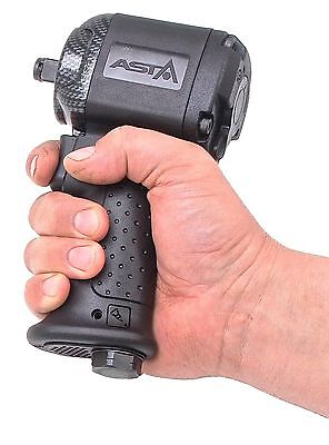 """SUPER SHORT 113 mm Composite Air Impact Wrench 1/2""""Sq Drive SINGLE Hammer Tool"""
