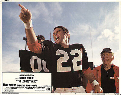 The Longest Yard 1974 Original Movie Poster Comedy Crime Drama
